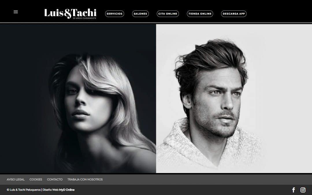 NUEVA WEB LUIS&TACHI